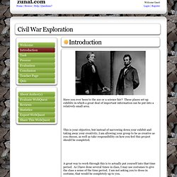Civil War Exploration