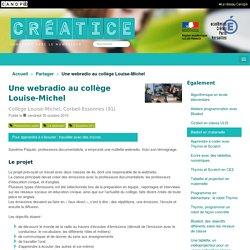 Une webradio au collège Louise-Michel - Créatice
