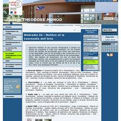 Webradio 5è : Molière et la Commedia dell'Arte - Collège THEODORE MONOD