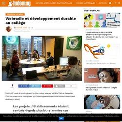 Webradio et développement durable au collège
