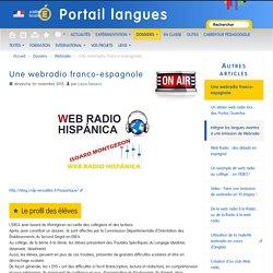 Une webradio franco-espagnole - Portail langues