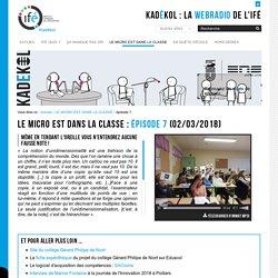 épisode 7 — La WebRadio de l'Institut Français de l'Éducation