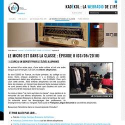 épisode 8 — La WebRadio de l'Institut Français de l'Éducation