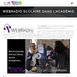 Webradio scolaire dans l'académie