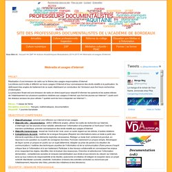 Webradio et usages d'internet