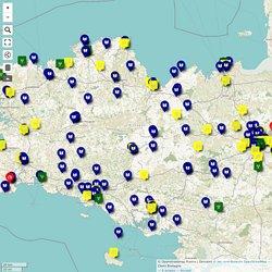 Webradios et journaux scolaires de l'Académie de Rennes (Source : Clémi Bretagne)
