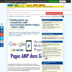 compatible AMP (Accelerated Mobile Pages)