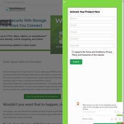 Geek Squad Webroot Renewal- www.webroot.com/geeksquad (official)