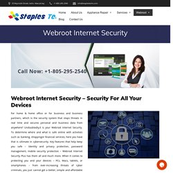 What Is Webroot Internet Security