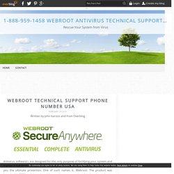 1-888-959-1458 Webroot Antivirus Tech Support Helpline Number