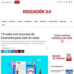 15 webs con recursos de Economía para usar en clase