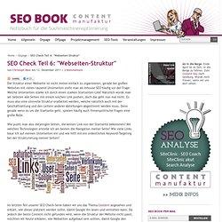 """SEO Check Teil 6: """"Webseiten-Struktur"""""""