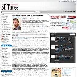 WebSharper platform seeks to broaden F# use