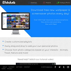 Photo Sharing, Free Wallpaper and Free Screensavers
