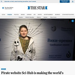 Pirate website Sci-Hub is making the world's academic research free to all. But at what cost?