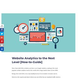 Website Analytics to the Next Level [How-to-Guide] - Ville Teikko