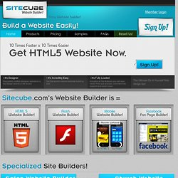 Build a Website Easily!