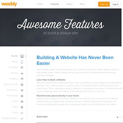 Weebly Website Builder – Build a Free Professional Website