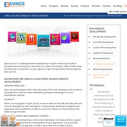 Open Source Website Builder, Open Source Website Design Software