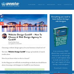 Website Design Cardiff - Responsive Web Design Agency Cardiff