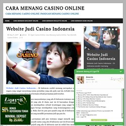 Website Judi Casino Indonesia