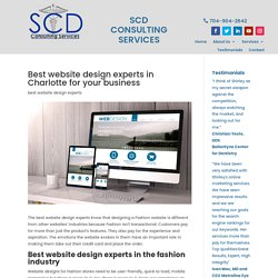 Best website design experts in Charlotte NC for your small business