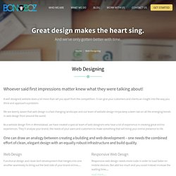 Website Design Company India, Web Designing Company - Bonoboz.in