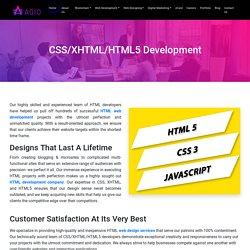 Web Design In HTML Platform in Noida