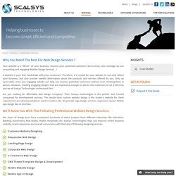 Website Design Company & Custom Web - Scalsys Technologies