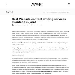 Best Website content writing services