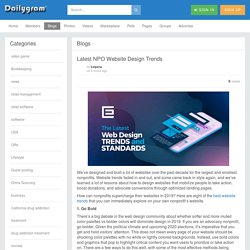 Latest NPO Website Design Trends