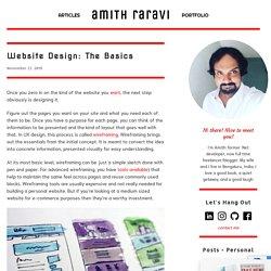 Website Design: The Basics