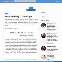 Website design Cambridge