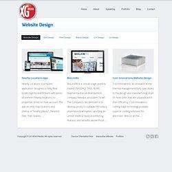 Website Design – Skills – XG Media