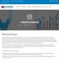 Website Design – Synergy