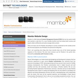 Mambo Website Design India