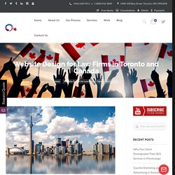 Website Design for Law Firms in Toronto and Canada