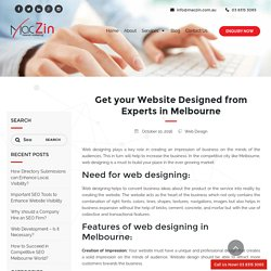 Why your Website Should be Designed from Experts?
