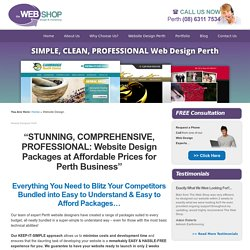 website design perth information