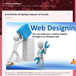 Best Website Designing Company In Dwarka