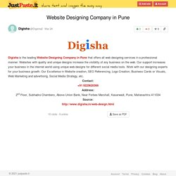 Website Designing Company in Pune