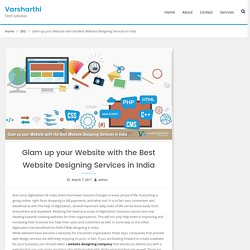 Glam up your Website with the Best Website Designing Services in India