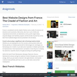 Best Website Designs from France: The Citadel of Fashion and Art