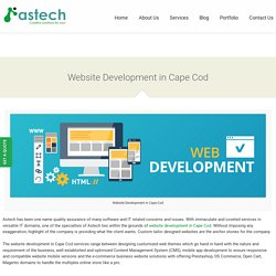 Website Development in Cape Cod