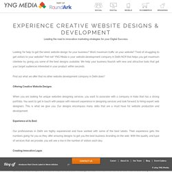 Website Development Comapny in Delhi NCR, India - YNG Media