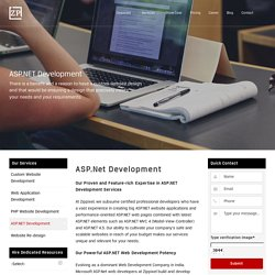 ASP.NET Website Development Companies, .NET Development Company
