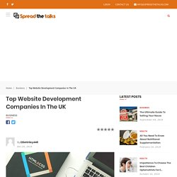 Top Website Development Companies in the UK