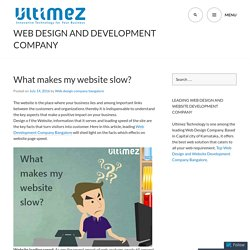 Web Design and Development Company