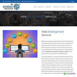 Customized Web Development Services - The Global Infotech