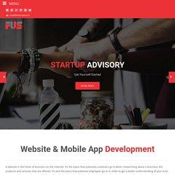 Website & Mobile App Development - FUS